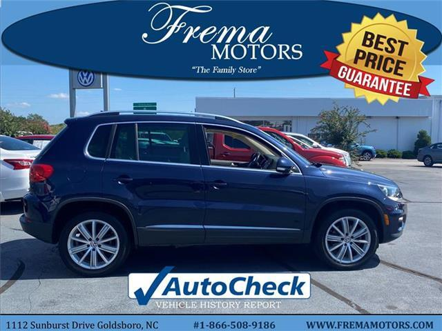 2015 Volkswagen Tiguan SE w/Appearance Front-wheel Drive Goldsboro NC