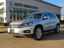 2015_Volkswagen_Tiguan_SEL 2.0L 4CYL TURBOCHARGED, AUTOMATIC, LEATHER SEATS, PANORAMIC SUNROOF, NAVIGATION, FENDER PREMIUM_ Plano TX