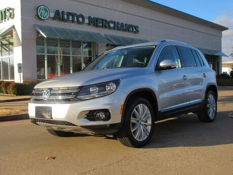 2015 Volkswagen Tiguan SEL 2.0L 4CYL TURBOCHARGED, AUTOMATIC, LEATHER SEATS, PANORAMIC SUNROOF, NAVIGATION, FENDER PREMIUM Plano TX