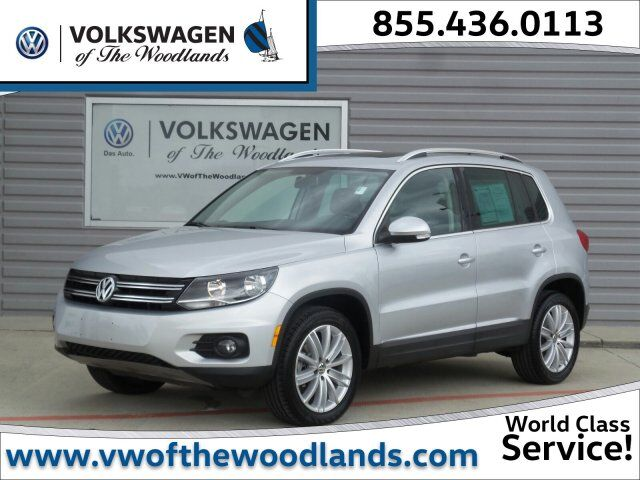 2015 Volkswagen Tiguan SEL The Woodlands TX