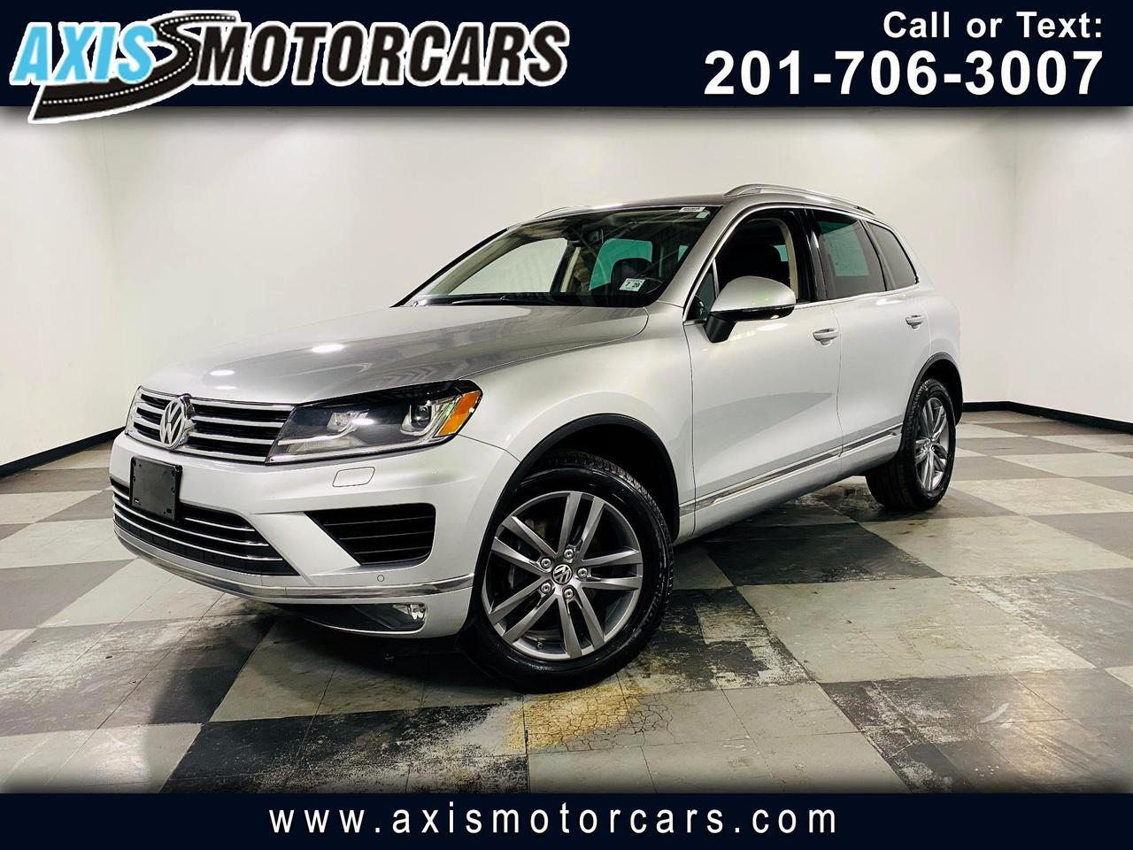 2015 Volkswagen Touareg 4dr V6 Lux w/Backup Camera Navigation Panoramic Ro Jersey City NJ