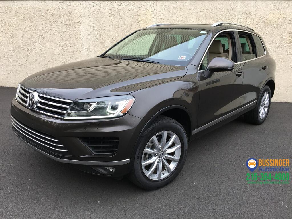 2015 Volkswagen Touareg TDI - Sport w/ Technology Feasterville PA