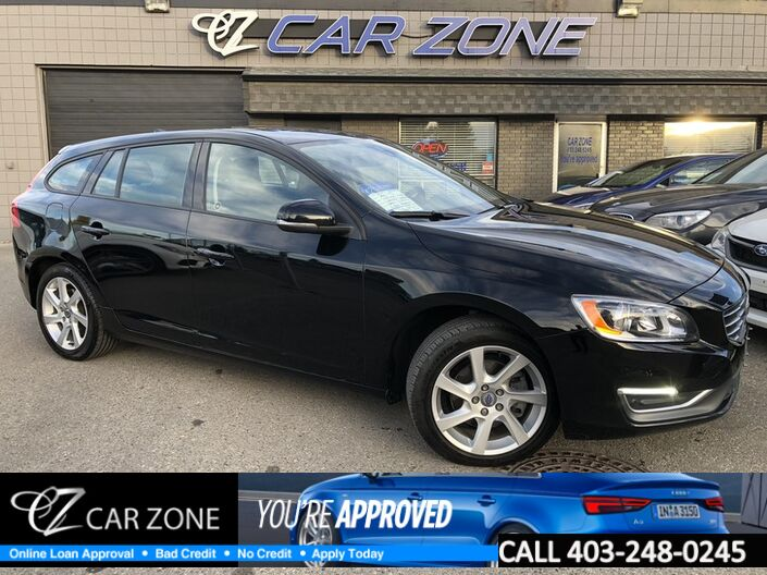 2015 Volvo V60 T5 WAGON, LOW KMS, EASY LOANS Calgary AB