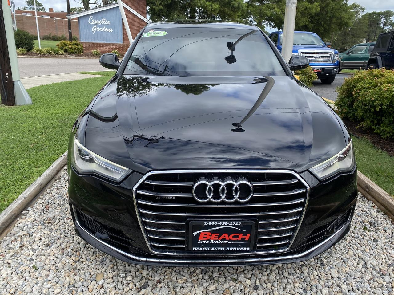 2016 AUDI A6 QUATTRO PREMIUM +, WARRANTY, LEATHER, HEATED/COOLED SEATS, NAV, BOSE SOUND, BACKUP CAM, SUNROOF! Norfolk VA