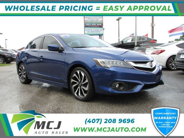 2016 Acura ILX 8-Spd AT w/ Technology Plus & A-SPEC Packages