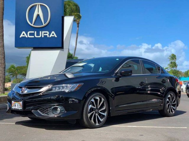 2016 Acura ILX w/Premium w/A SPEC 4dr Sedan and A Package Kahului HI