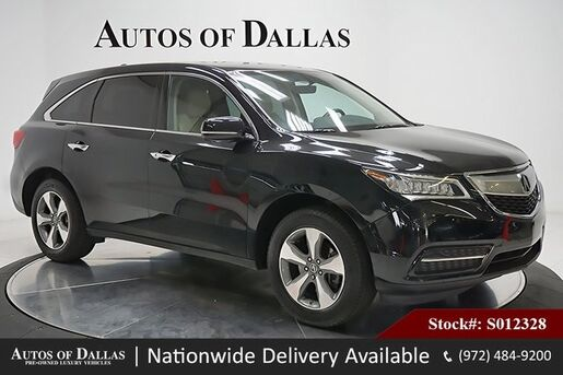 2016_Acura_MDX_3.5L CAM,SUNROOF,HTD STS,KEY-GO,18IN WLS,3RD ROW_ Plano TX