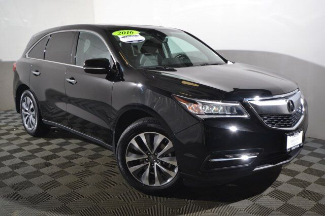 2016 Acura MDX 3.5L SH-AWD w/Technology & Entertainment Pkgs Seattle WA