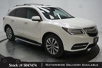 Acura MDX 3.5L TECH,NAV,CAM,SUNROOF,HTD STS,19IN WLS,3RD ROW 2016