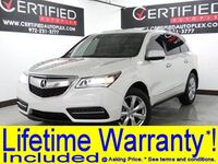 Acura MDX 3.5L V6 ADVANCE PKG NAVIGATION SUNROOF ADAPTIVE CRUISE CONTROL BLIND SPOT A 2016