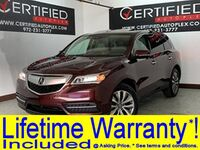 Acura MDX 3.5L V6 SH-AWD NAVIGATION SUNROOF REAR CAMERA LANE ASSIST HEATED 2016