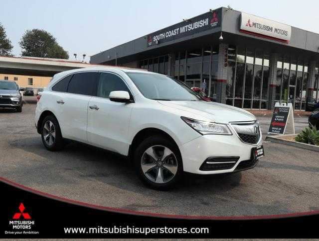 2016 Acura MDX 4DR FWD