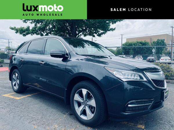 2016_Acura_MDX_7-Passenger Backup Cam Heated Seats_ Portland OR