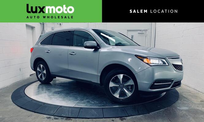 2016_Acura_MDX_AWD 3rd Row Seat Backup Cam Heated Seats_ Portland OR
