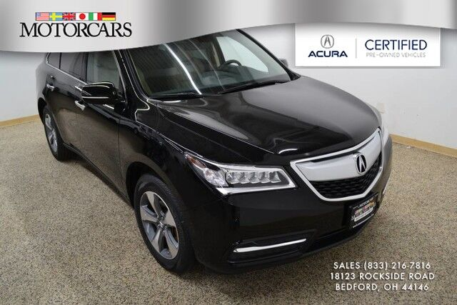 2016 Acura MDX AWD Bedford OH
