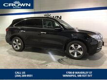 2016_Acura_MDX_AWD PREMIUM - *No accidents/Local/One owner/FULL SERVICE RECORDS*_ Winnipeg MB