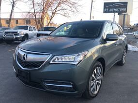 Acura MDX AWD w/Tech Package & Factory Warranty 2016