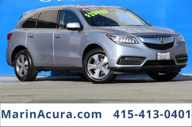 2016_Acura_MDX_Base_ Bay Area CA