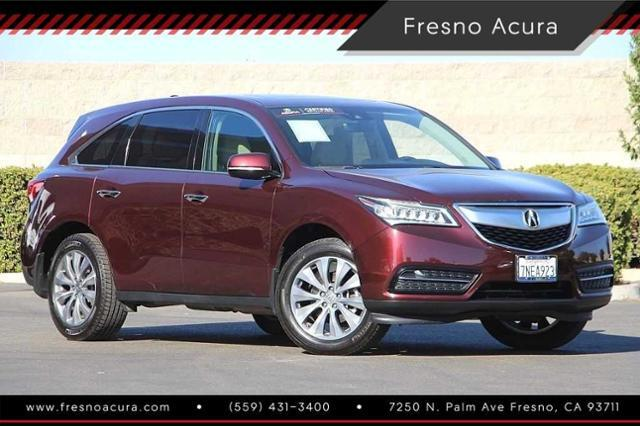 2016_Acura_MDX_FWD 4dr w/Tech_ Bay Area CA