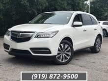 2016_Acura_MDX_FWD 4dr w/Tech_ Raleigh NC