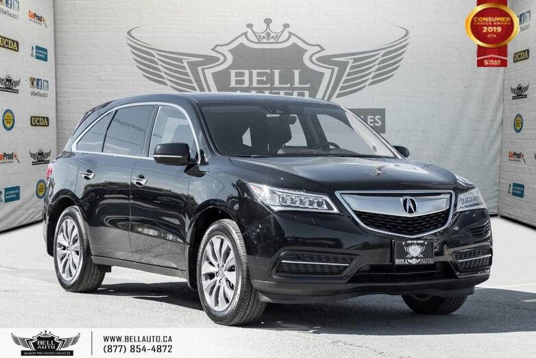 2016 Acura MDX Nav Pkg, AWD, NO ACCIDENT, NAVI, BACK-UP CAM, COLLISION PREV, LANE DEP Toronto ON