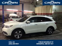 2016_Acura_MDX_PREMIUM LOCAL ONE OWNER TRADE IN_ Winnipeg MB