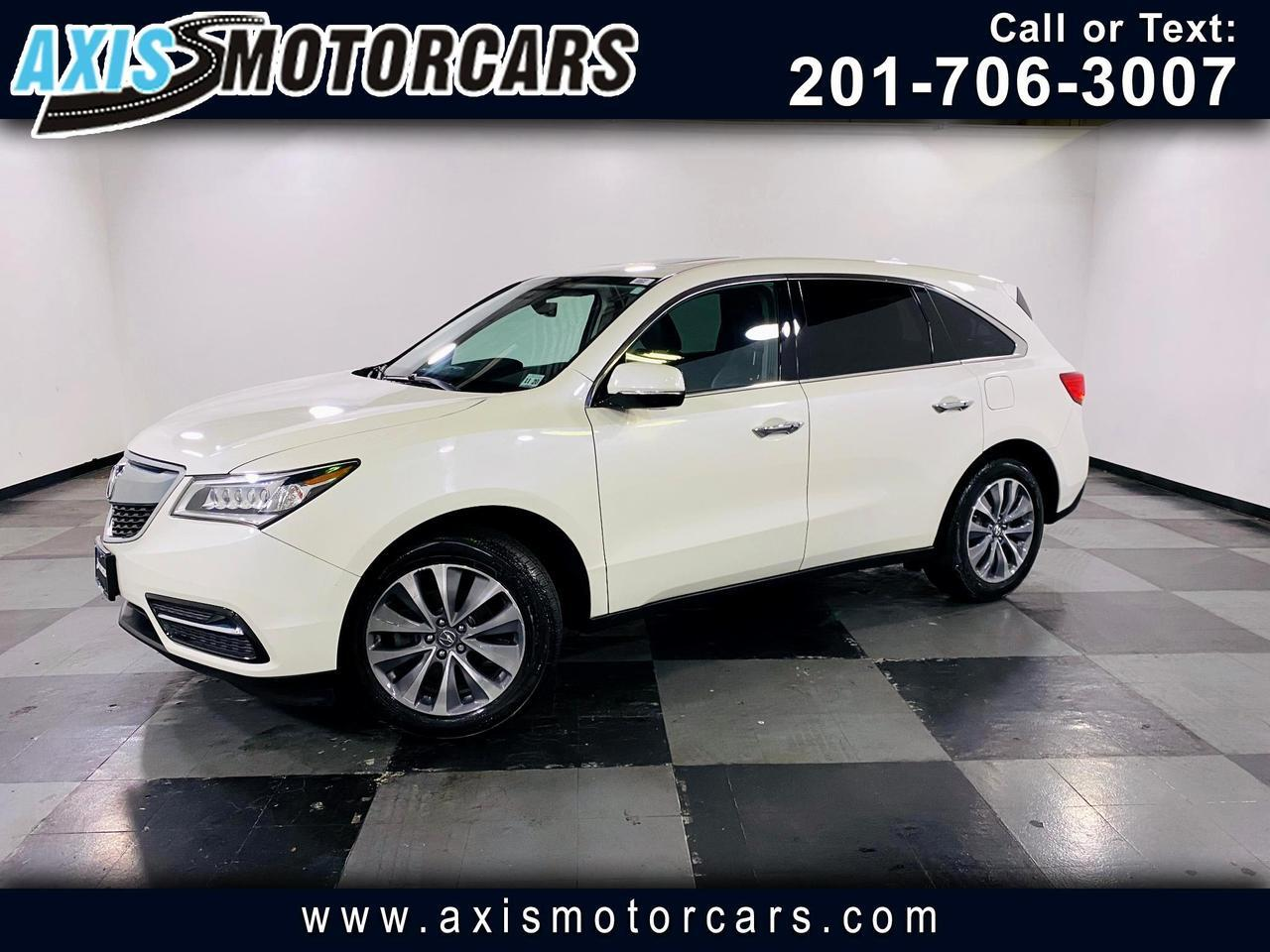 2016 Acura MDX SH AWD 4dr w/Backup Camera Navigation Sun Roof Jersey City NJ