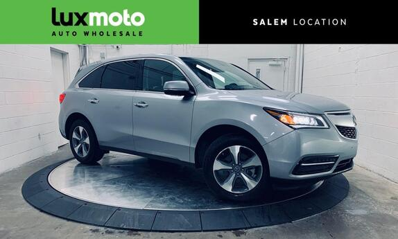 2016 Acura MDX SH-AWD Backup Cam 3rd Row Moonroof Salem OR