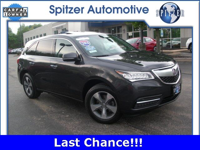 2016 Acura MDX SH-AWD McMurray PA