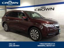 2016_Acura_MDX_SH-AWD TECH PKG - *Local/One Owner*_ Winnipeg MB