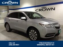 2016_Acura_MDX_SH-AWD TECH PKG - *Navigation/Rear DVD*_ Winnipeg MB