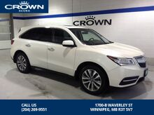 2016_Acura_MDX_SH-AWD W/ NAVI PKG - *Local vehicle/Service records/Premium Vehicle*_ Winnipeg MB