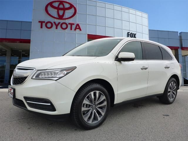 2016 Acura MDX SH-AWD w/Tech w/AcuraWatch Clinton TN