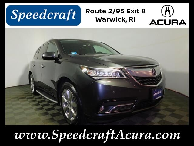 2016 Acura MDX SH-AWD with Advance Package Wakefield RI
