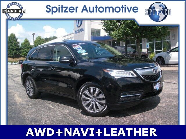 2016 Acura MDX SH-AWD with Technology Package Amherst OH