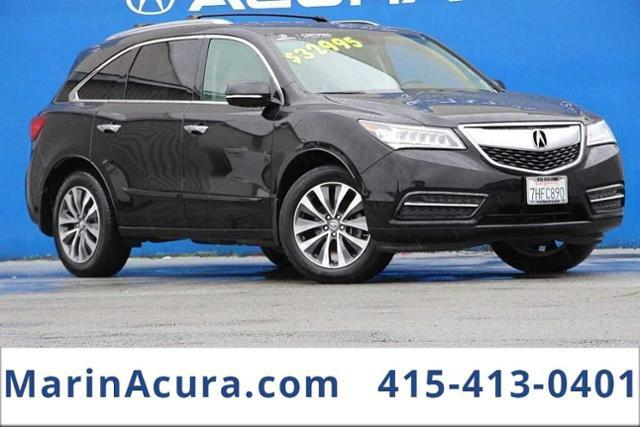 2016_Acura_MDX_SH-AWD with Technology Package_ Bay Area CA