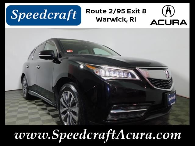 2016 Acura MDX SH-AWD with Technology Package Wakefield RI