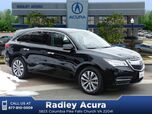 2016 Acura MDX SH-AWD with Technology and AcuraWatch Plus Packages