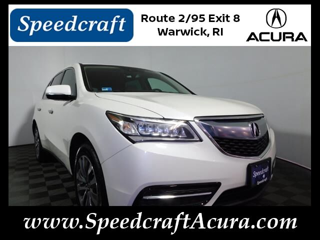 2016 Acura MDX SH-AWD with Technology and AcuraWatch Plus Packages Wakefield RI