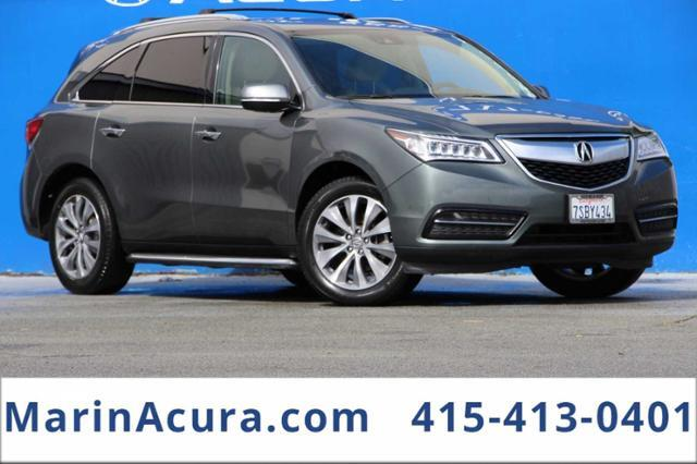 2016_Acura_MDX_SH-AWD with Technology and Entertainment Packages_ Bay Area CA