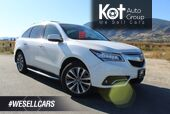2016 Acura MDX Tech Pkg, One Owner, Low Km's