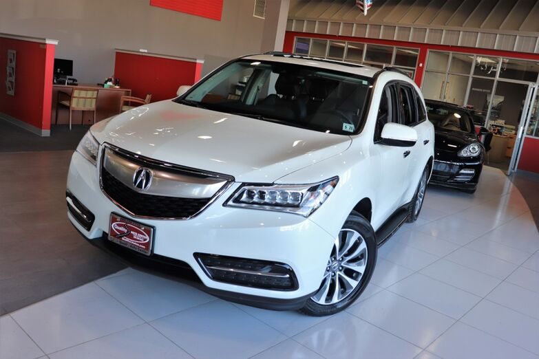 2016 Acura MDX Technology Acura Watch Plus Navigation Sunroof Backup Camera Running Boards 1 Owner Springfield NJ