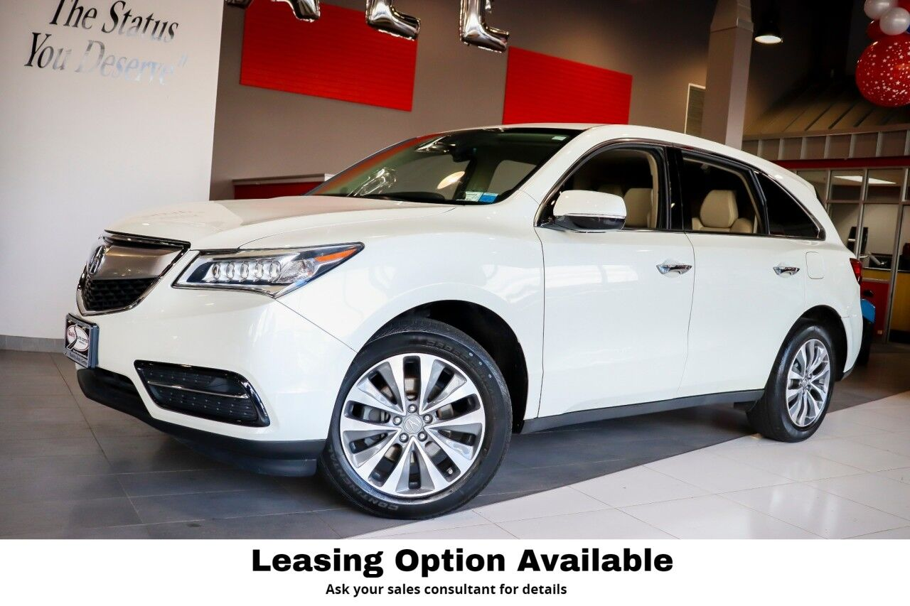 2016 Acura MDX Technology Package Sunroof Navigation 1 Owner Springfield NJ