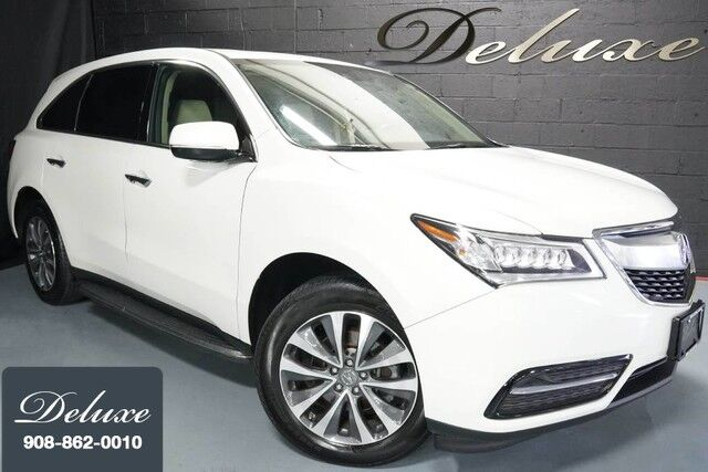 2016 Acura Mdx Technology Sh Awd Navigation System Rear View Camera