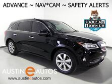 Acura MDX w/Advance *NAVIGATION, COLLISION SYSTEM w/BRAKING, BLIND SPOT ALERT, LANE KEEPING ASSIST, RADAR CRUISE, BACKUP-CAM, MILANO LEATHER, CLIMATE SEATS, MOONROOF 2016