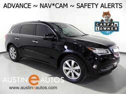 2016_Acura_MDX w/Advance_*NAVIGATION, COLLISION SYSTEM w/BRAKING, BLIND SPOT ALERT, LANE KEEPING ASSIST, RADAR CRUISE, BACKUP-CAM, MILANO LEATHER, CLIMATE SEATS, MOONROOF_ Round Rock TX