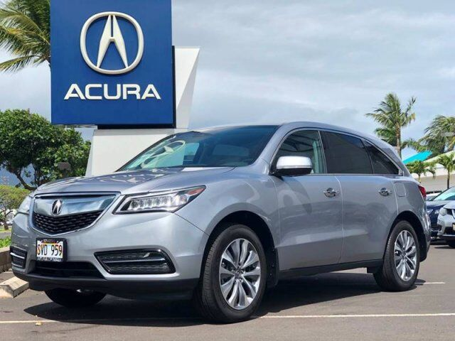 2016 Acura MDX w/Tech 4dr SUV w/Technology Package Kahului HI