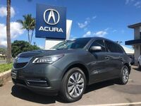 Acura MDX w/Tech 4dr SUV w/Technology Package 2016