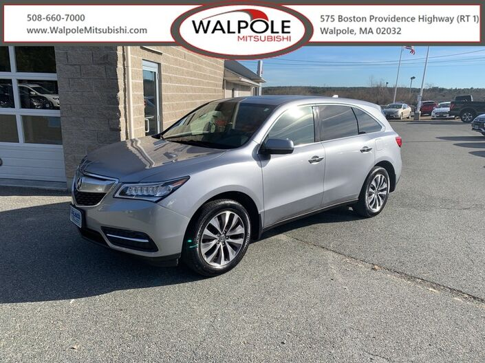 2016 Acura MDX w/Tech/AcuraWatch Plus Walpole MA