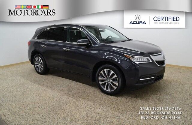 2016 Acura MDX w/Tech Bedford OH